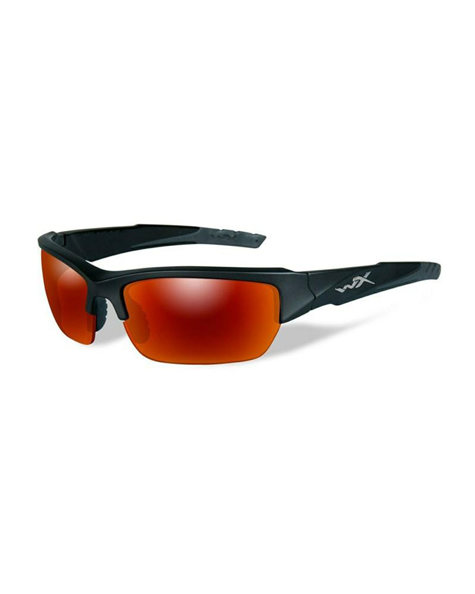 Γυαλιά Ηλίου Wiley X Valor Pol Crimson Mirror Black 2 Tone Frame