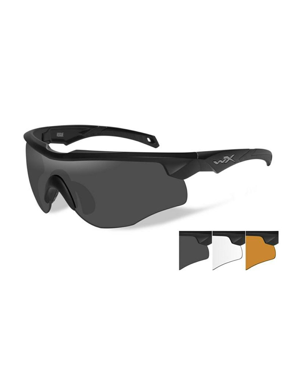 Wiley X Mod Valor Smoke Grey Lens  And Matte Black Frame