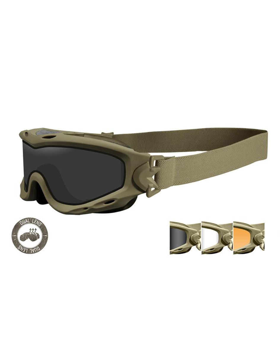 Wiley X Tactical Sunglasses Model Dual Spear