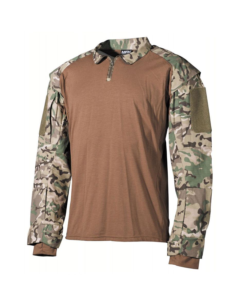 Mπλούζα Μάχης US Tactical Shirt long Sleeved Multicam Max Fuchs 02611X