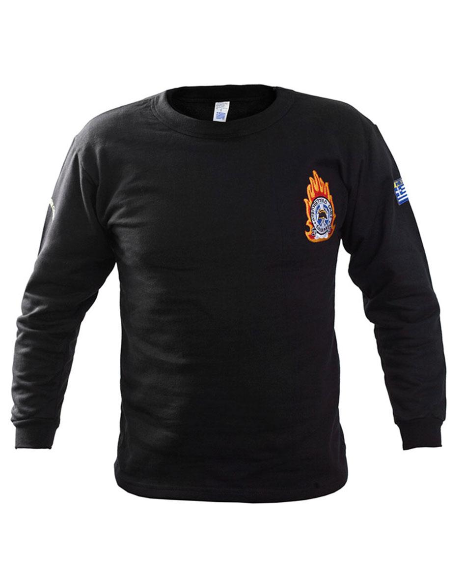 Φούτερ βαμβακερό με κέντημα Πυροσβεστικής Survivors 00958