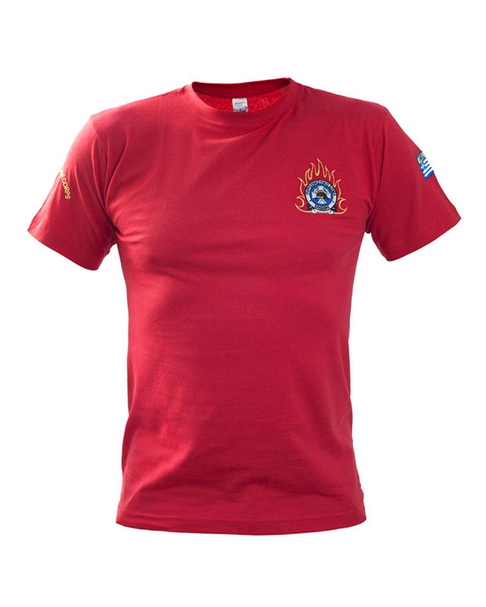Μπλουζάκι μακό με κέντημα Εθελοντών Εποχικών Survivors 00795